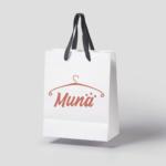 MUNA branding